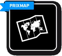 Interaktive Weltkarte zur Visualisierung der Prix Gewinner und Einreicher