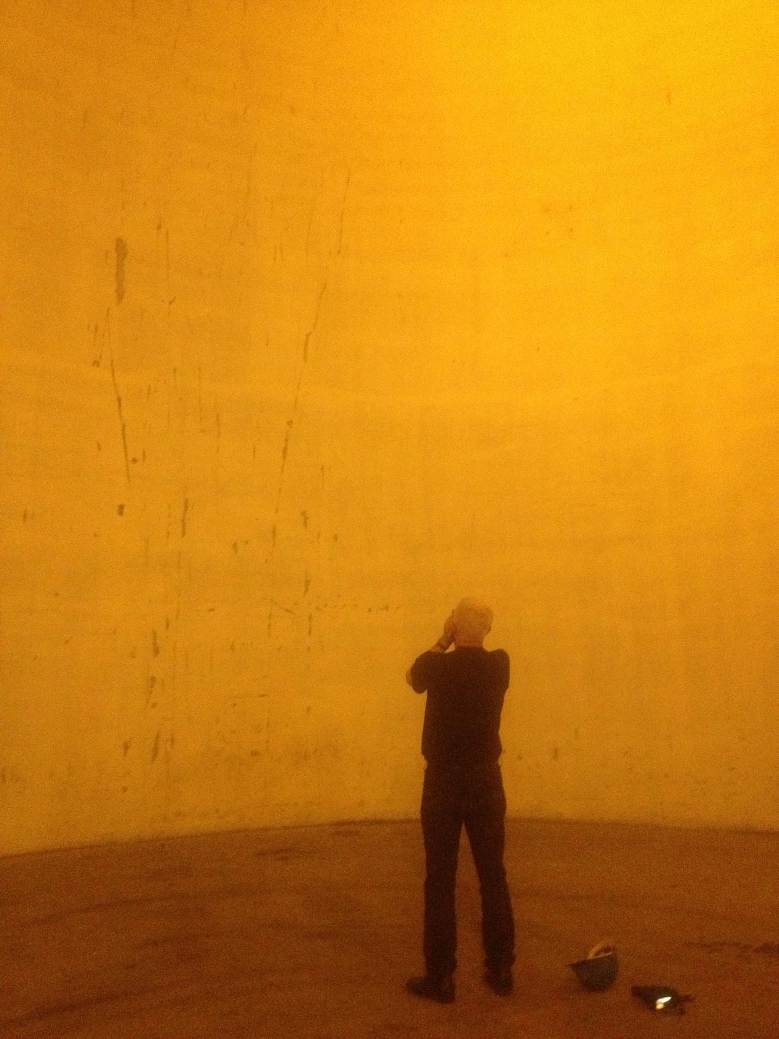 Collide@CERN Artist Bill Fontana