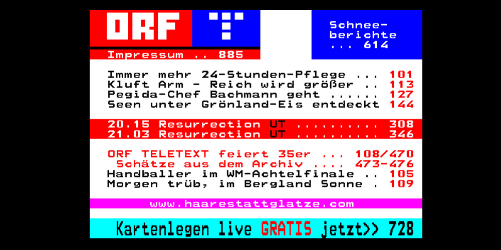 orfteletext