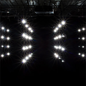 Blitzlichtinstallation #1