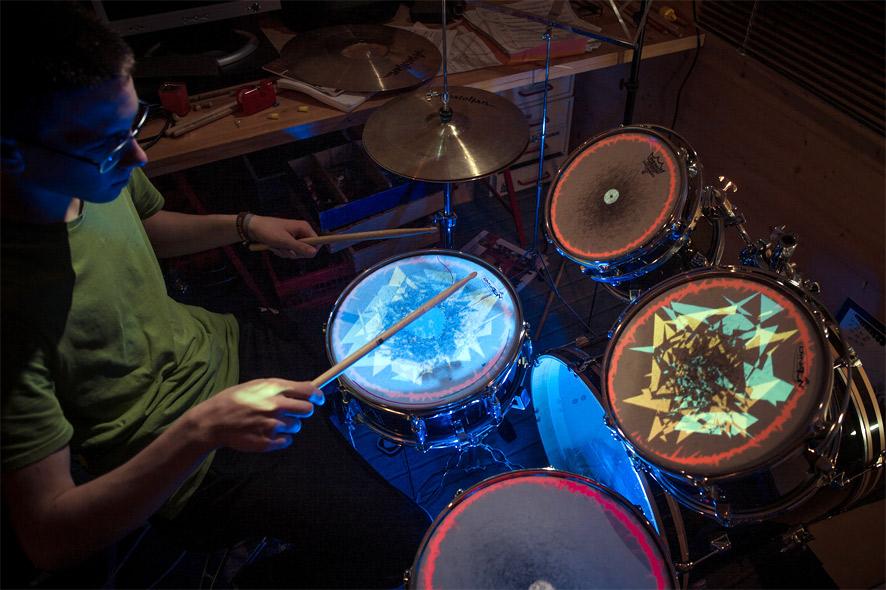Visual Drumset