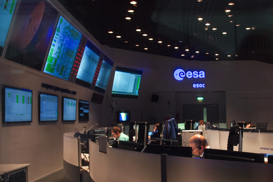 Main Mission Control Room