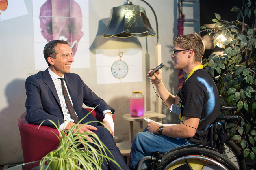 Interview with Christian Kern