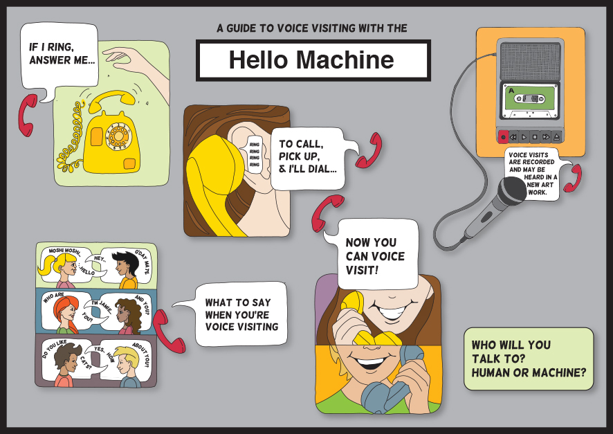 hello machine poster - AEF A3-V2