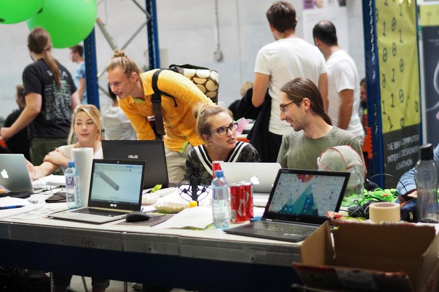 BR41N IO Hackathon: Eat, Sleep, Hack, Repeat! - Ars Electronica Blog
