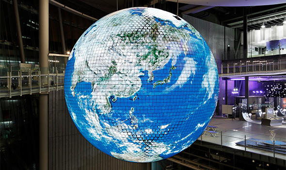 Deep Space LIVE: Miraikan – Geo-Cosmos Content Contest