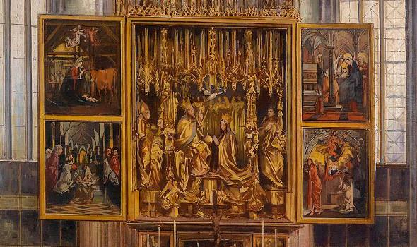 Deep Space LIVE: Kulturelles Erbe – Pacher Altar in St. Wolfgang