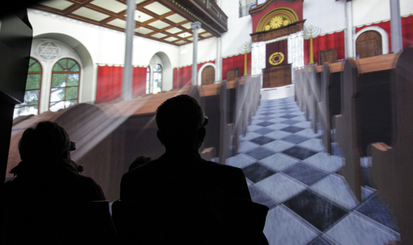 Deep Space LIVE: Die Rekonstruktion der alten Linzer Synagoge
