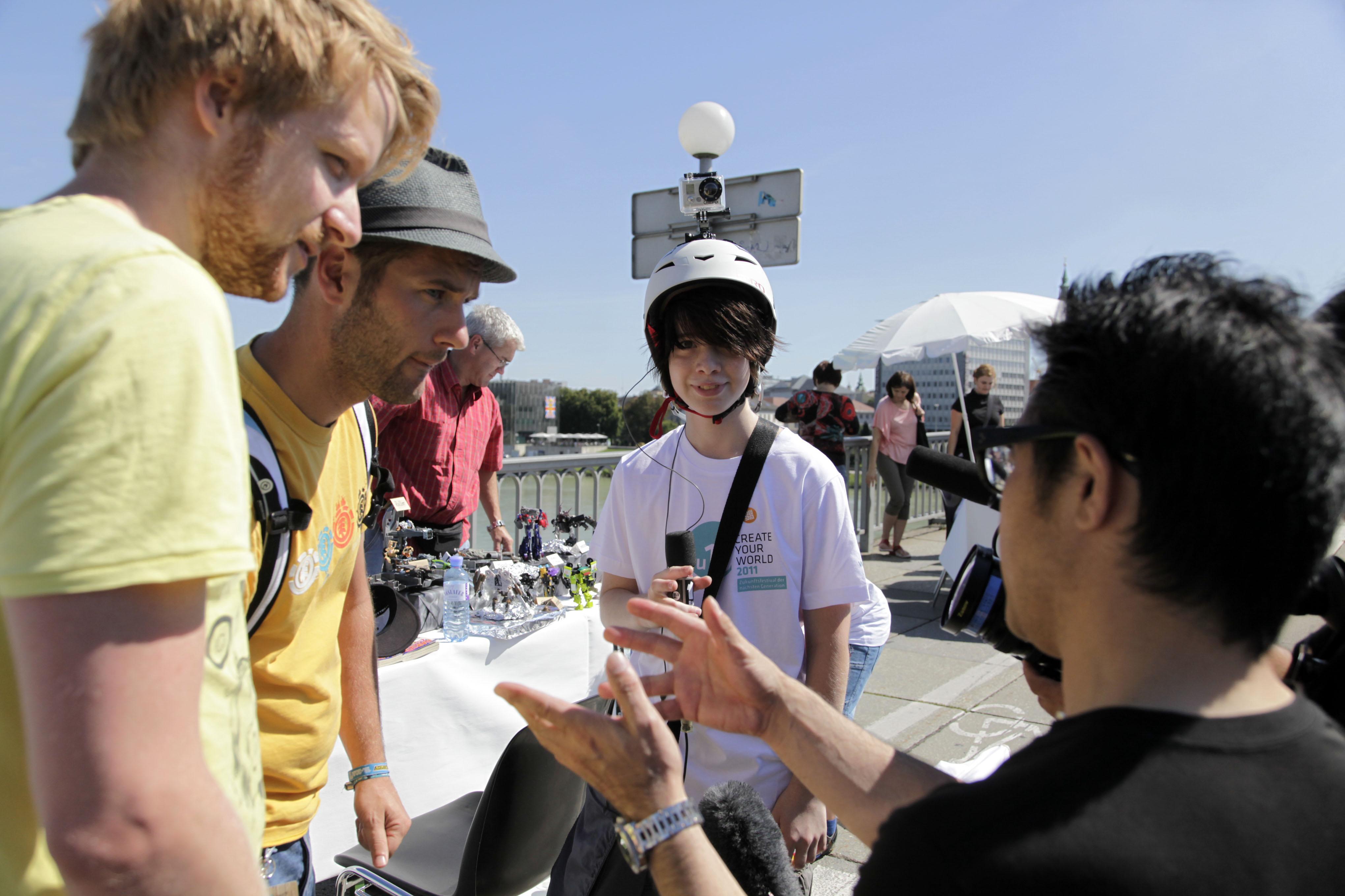 Ars Electronica 2011: SA, 03.09.: Marktplatz der Talente - KNOW-HOW FÜR MORGEN. Foto: rubra