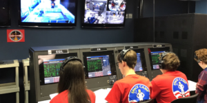 Mission Control an ISS
