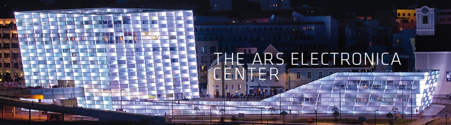 Ars Electronica Center night view